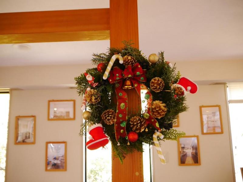 クリスマスリース クラフトセミナーを開催します!