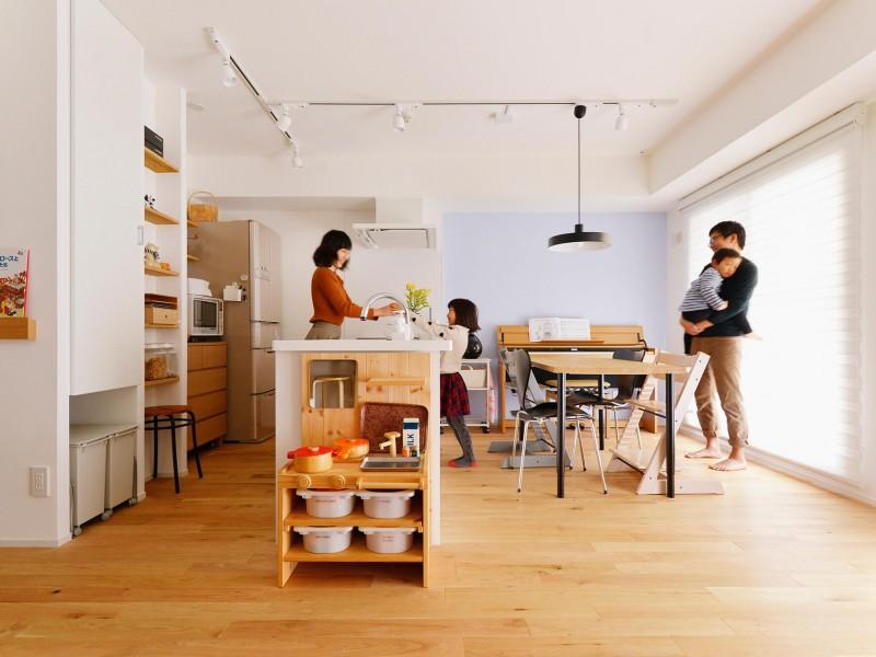 住宅WEBメディア「リノベりす」に川崎市の施工事例・S様邸が紹介されました。